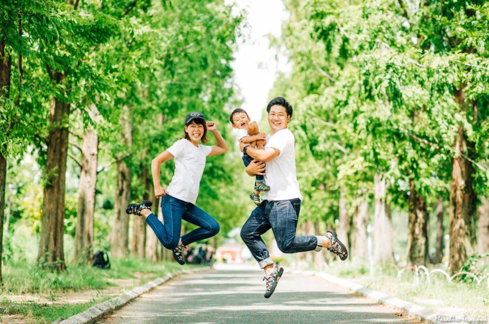 大阪市鶴見区 家族写真の記念撮影