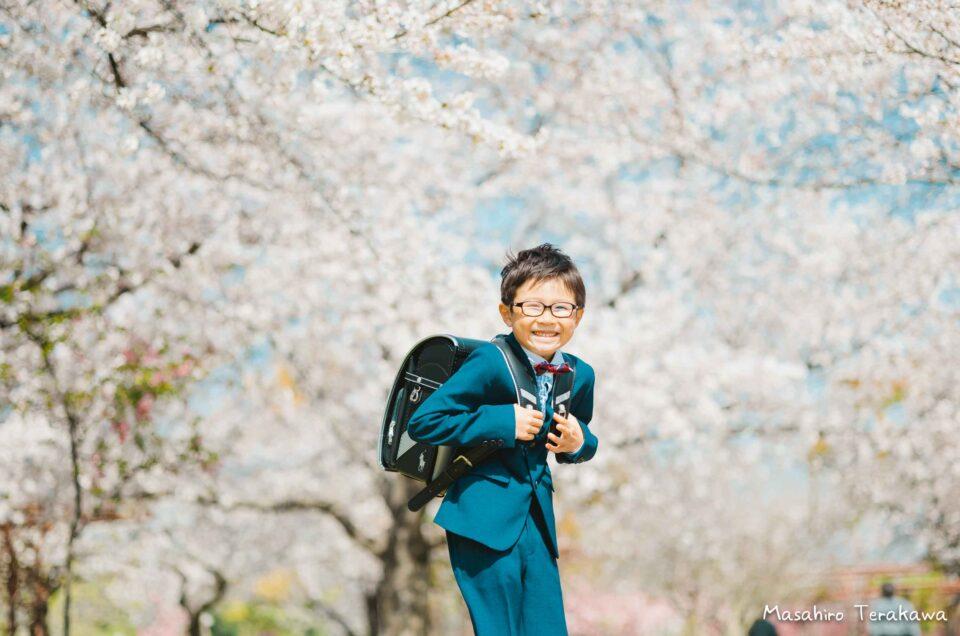 大阪 小学校入学の写真撮影!