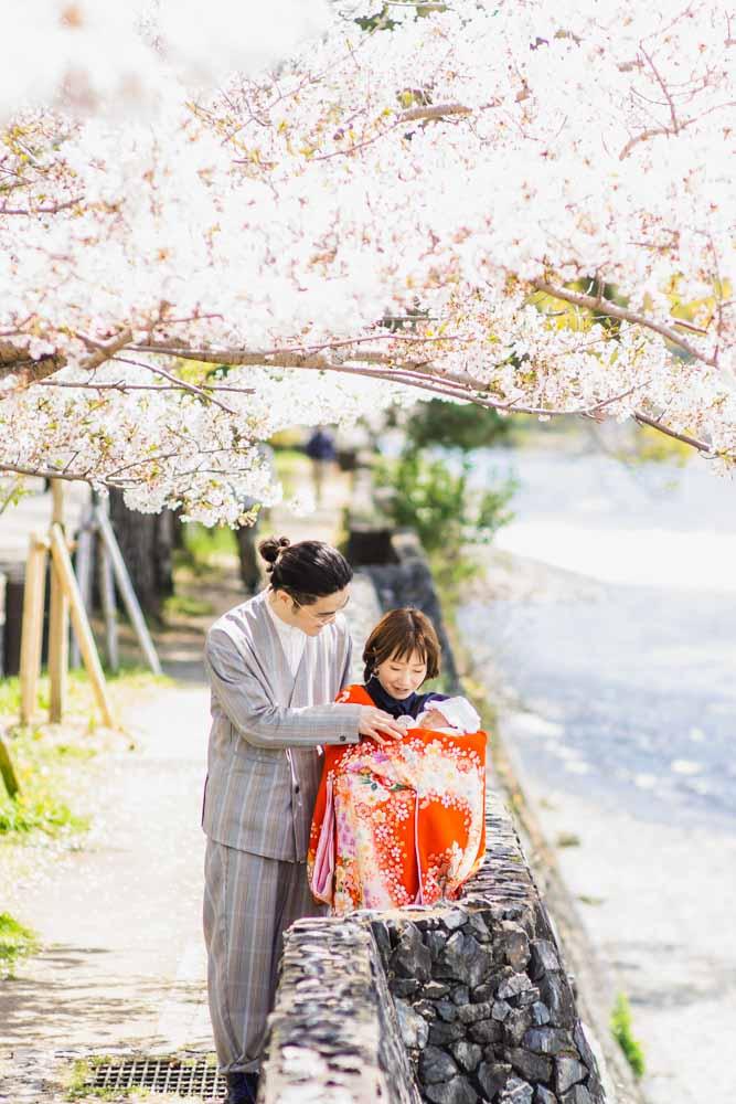 大阪・神戸・京都の関西から日本全国どこでも家族写真撮影